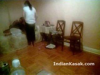 Hinduskie punjab uniwersytet para pieprzenie ciężko w sypialnia