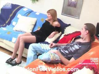 Alice og mike sleaze strømper footsex