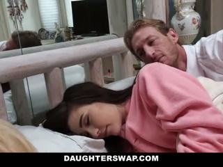 DaughterSwap - Daughters Fucked During Sleepover