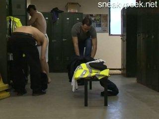 Politie changing kamer