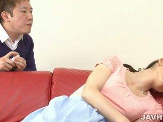 Японська матуся toyed в рано ранок