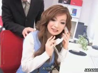 Aiko nagai feasts na trzy thick thick cocks