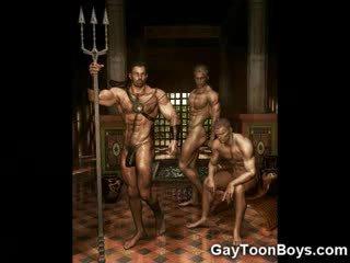 Musculosa gay boys 3d fantasy!