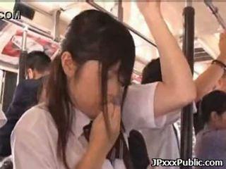 Sexy japonez adolescență la dracu în public places 34