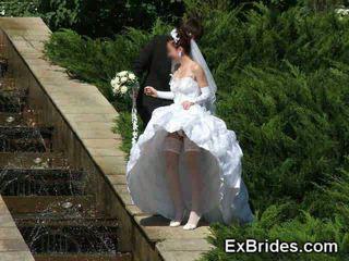 Wedding Day Upskirts!