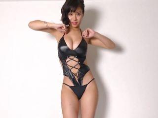 Miyu dejošas - spīdošas bodysuit non-nude, porno 9c