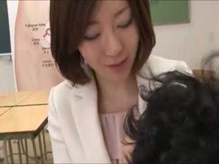 japoński, seks grupowy, matka