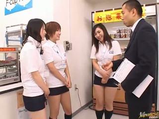 Jepang av model in a piss video