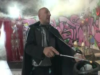 Sleaze angels dance और omar galanti performs magic tricks.