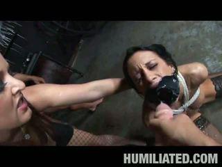 Cum Disgrace: Unbelievable nasty torturing fun with busty slut Kita Zen