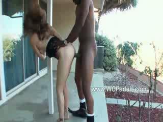 Blonde Jade fucked with a big black cock