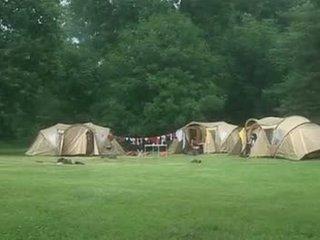 Suzie diamond v a camping