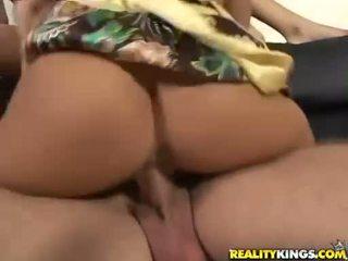 Sexy chó jaclyn trường hợp throats cocks sau đó gets nó slammed lên twat