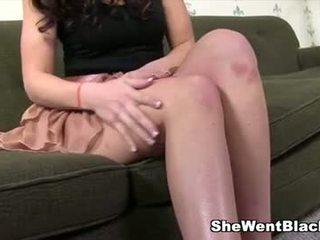 Mia gold anal knullet av mandingo stor svart