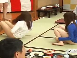 Subtitled bottomless jepang embarrassing kelompok permainan