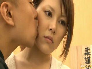 japonês, grandes mamas, asiático