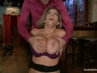 Sara Jay Has Tied Up And Likes A Massive Dick In Her Chuf