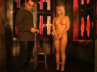 hardcore sex, bondage sex, blond