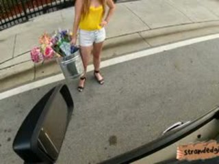 Busty Teen Sam Summers Banged By Stranger Guy In Public