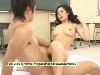 Sora aoi nxehtë vajzë sexy japoneze student gets një i vështirë qirje