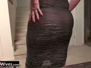 Usawives rijpere dame jade solo masturbation: gratis porno f9