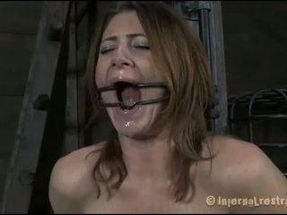 Lusty caning for tough maly