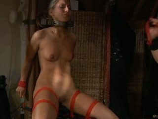 Horny Slave Girl Moans Of Pleasure In Bdsm Session