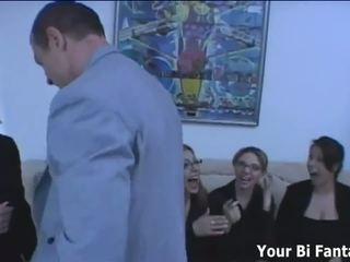 Dominant Secretary Strapon Bangs the Boss Man: Free Porn f8