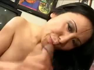 Korean Chick Having Brutal Cock In Mouth