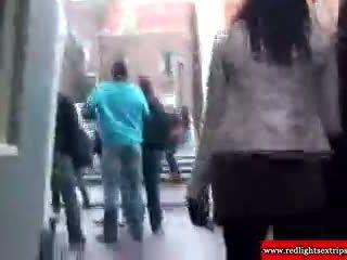 リアル ブロンド オランダ語 フッカー gets eaten アウト