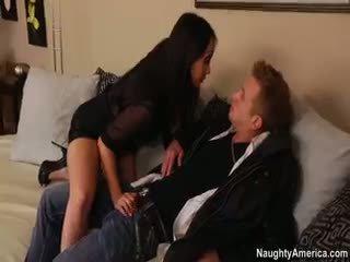 briunetė, big boobs, blowjob