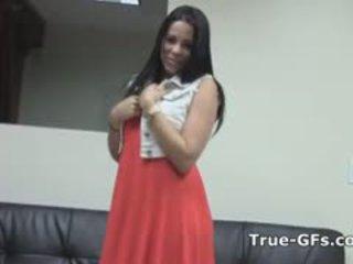 Verdadeiro titty cubana humped em hearing
