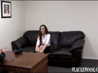 Anal Audition With Anxious Sexy Tee