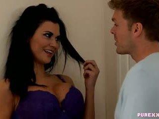 Pure xxx filmagens dona de casa jasmine jae cheats em dela marido