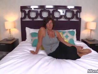 Heet groot tieten nymfomane milf fucks lul pov, porno 63