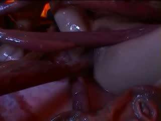 Liels tentacles jāšanās seksuālā austrumnieki meitene iekšā freaky monstrs