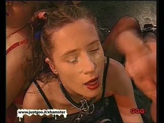 Ķēde tīņi getting fucked un sperma covered - vācieši