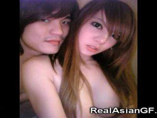 Aziatisch tiener gfs zuigen!