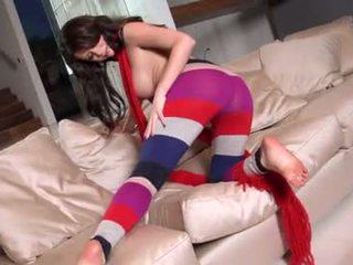 Emily Addison masturbating