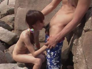 Frisky Couple Strip and Fuck on the Beach Hardcore: Porn 45
