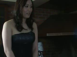 Unique jap Escort masturbated