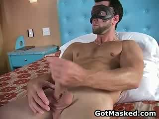 Hunky geý dude stripping and droçit etmek 11 by gotmasked