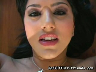 Sunny leone has een jerkoff encouragement fetisj