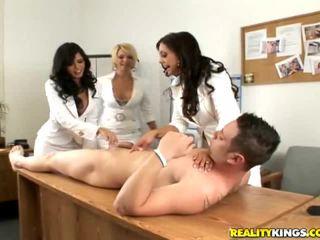 Girls having fun naked