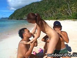 Asami ogawa asyano playgirl receives bang