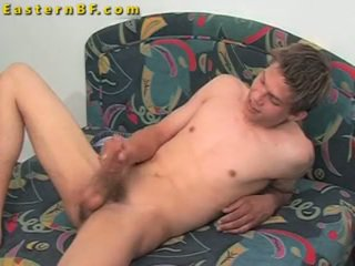 Cute Eastern Euro Jules Jerking