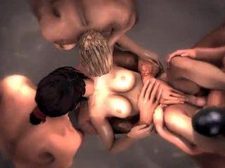 hottest hentai thumbnail, see gangbang, fun animated tube