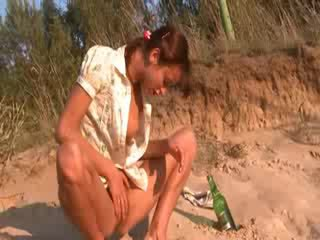 Sweet natasha chick Nude on the beach