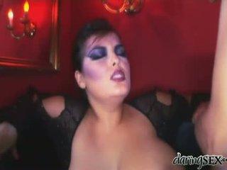 Καυτά μελαχρινές εσείς, ωραίος πορνοστάρ, mega big tits ωραίος
