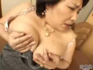 японський, мастурбувати, зрілий